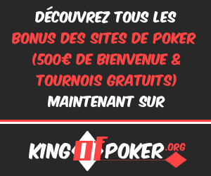Bonus des sites de poker en ligne