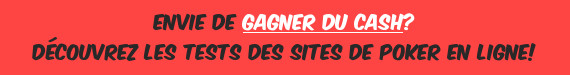 Tests des sites de poker en ligne